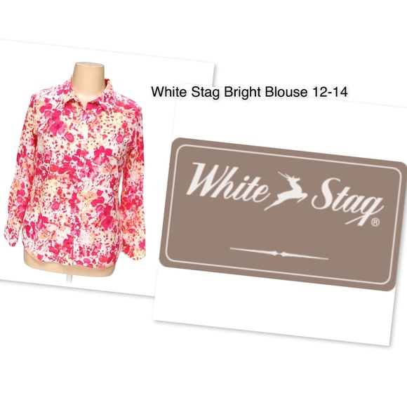 White Stag Tops - 💋3 for $15!  WHITE STAG L/G 12-14